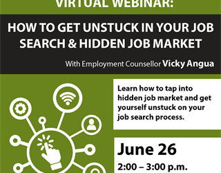 Webinar: How to Get Unstuck in Your Job Search & Hidden Job Market