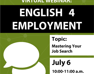 English 4 Employment: Mastering Your Job Search