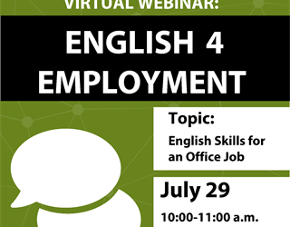 English-4-Employment: English Skills for an Office Job