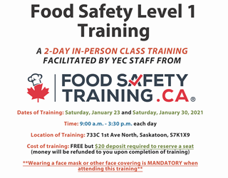 Youth Employment: Food Safety Level 1 Training - Part 1
