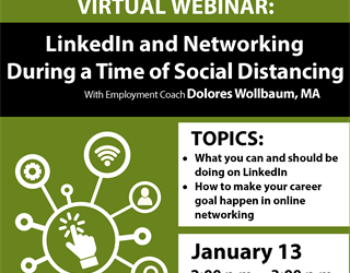 Webinar: LinkedIn and Networking During a Time of Social Distancing