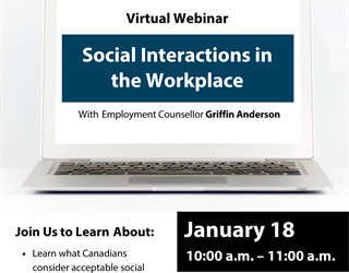 Webinar: Social Interactions in the Workplace