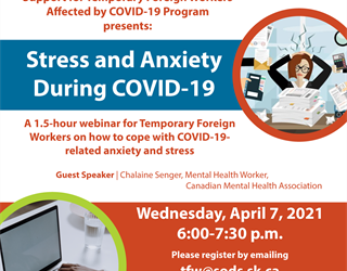 Support for Temporary Foreign Workers: Stress and Anxiety During COVID-19