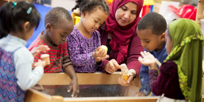 Multicultural Childcare Centres